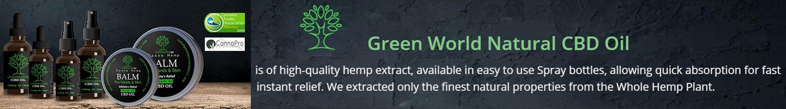Green World CBD Oil