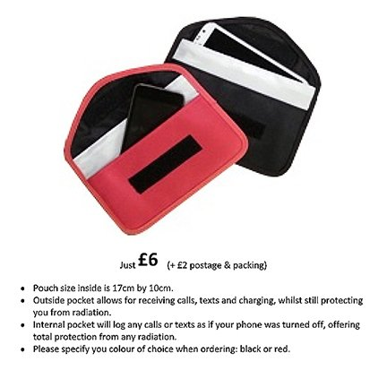 Mobile Phone Anti-Radiation Pouch