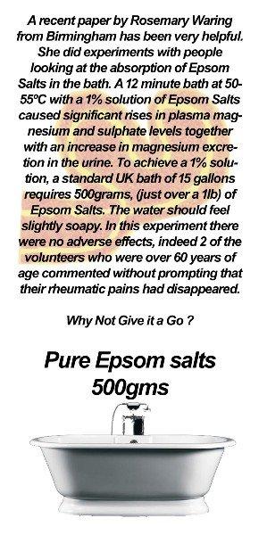 Epsom Salt Label, Anahata Brighton