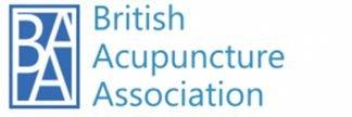 British Acupuncture Association member logo